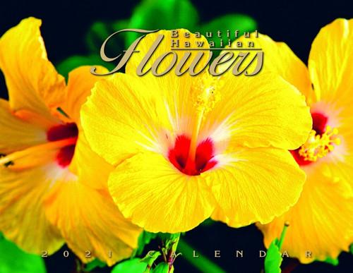 Hawaiian Designed Wall Calendars - 2021 Hawaiian Flowers