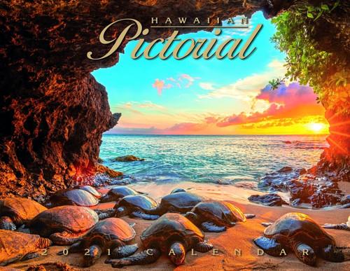 2021 CALENDAR - HAWAIIAN PICTORIAL