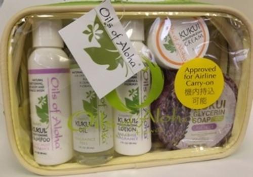 Kukui Skin Care Sampler  Gift Set