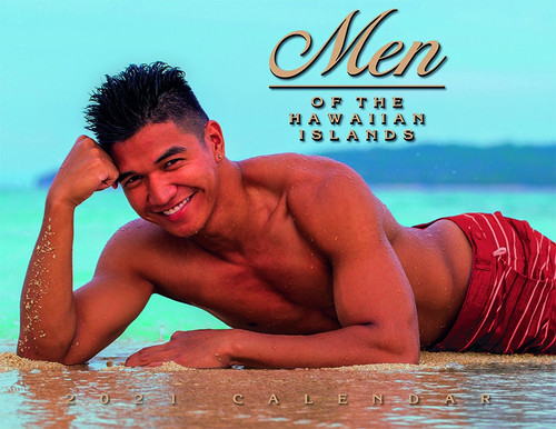 Hawaiian Designed Wall Calendars - 2021 Men of Hawaii