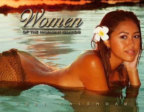 Hawaiian Designed Wall Calendars - 2021 Women of Hawaii