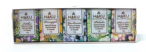 HAKU - Artisan Cold Process Soap 5 Pack