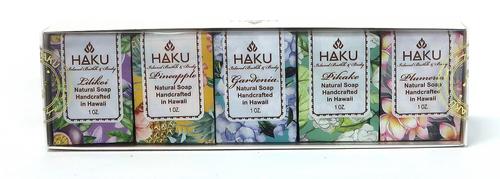 HAKU - Artisan Cold Process Soap 5 Pack
