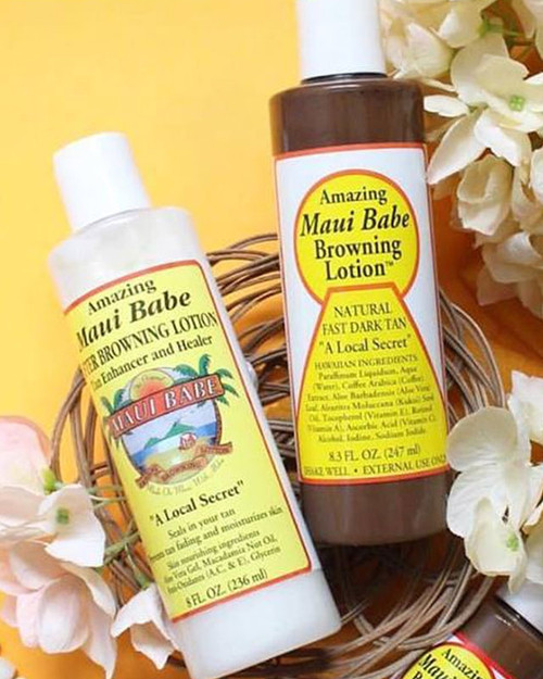 Amazing Maui Babe 8 oz Two Pack Gift Set