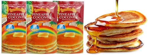 Hawaiian Sun Pineapple Coconut Pancake Mix 3 Pack