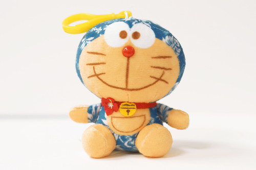 "Doraemon® 4"" Plush with Strap in Sitting Design"