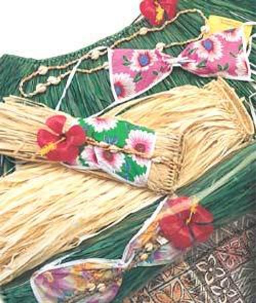 Hula Skirt Set