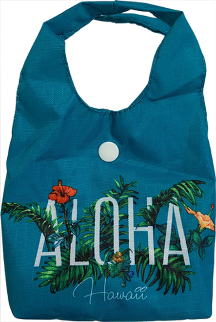 Paradise Foldable Tote - Assorted Designs in Garden style and in Teal color