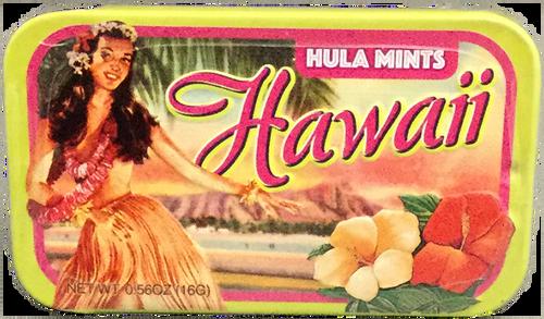 Mints in a Tin - Vintage Hula