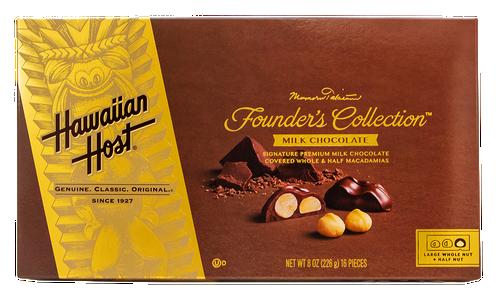 Hawaiian Host Founder's Collection Milk Chocolate Covered Macadamia Nuts - 8 oz box