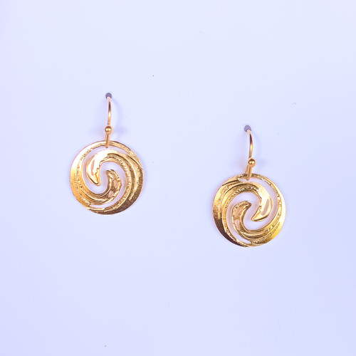 Liv-N-Aloha® Gold Moana Earrings