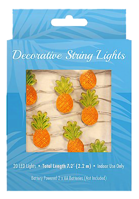 Decorative String LED Lights in pineapple design