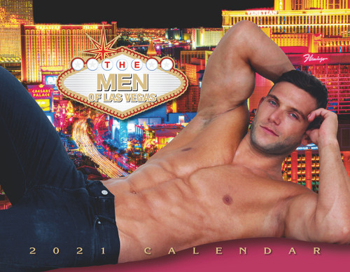 Men of Las Vegas 2021 Wall Calendar