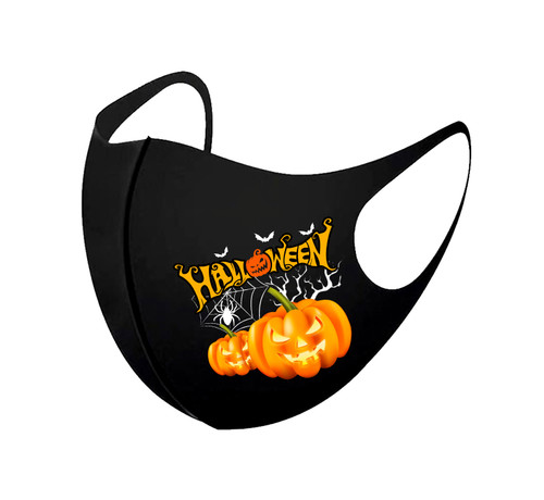 3D Aerosilver Halloween Fashion Mask in Halloween Scene(Adult size only)