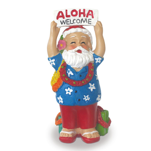 Christmas Ornament - Santa Greeting