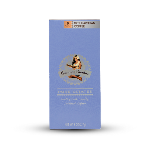 Hawaiian Paradise Coffee - Pure Estate 100% Hawaiian Whole Bean