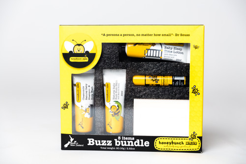 Honeybunch PURE Natural Travel Gift Set