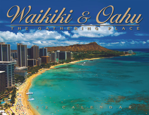 Hawaiian Designed Wall Calendars - 2022 Waikiki and Oahu