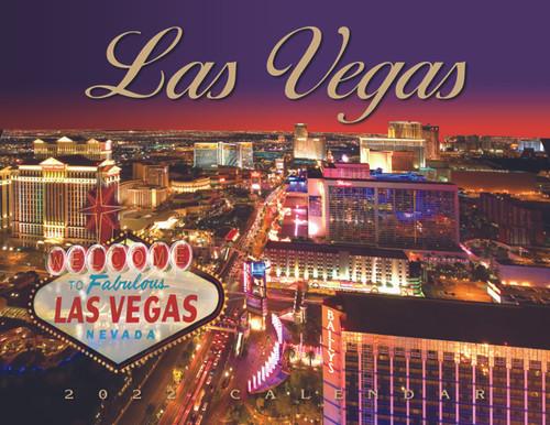 2022 Las Vegas Scenic Wall Calendar