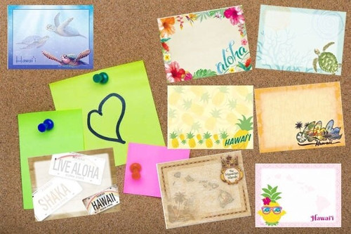 Stick N' Notes ~ Hawaiian Design