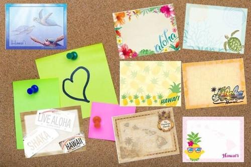 Stick N' Notes ~ Hawaiian Design