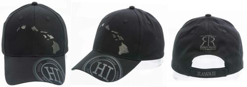 Robin Ruth® Island Chain Cap in black