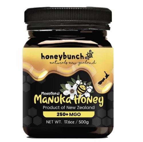 Honeybunch Pure Naturals - Manuka Honey Jar 17.6 oz MGO 250+