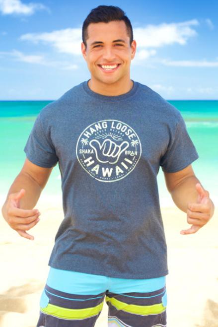 Male model wearing Hawaiian Performance Surfwear® - Shaka Brah