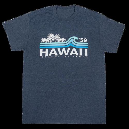 Hawaiian Performance Surfwear® - Beach Break - Navy Heather