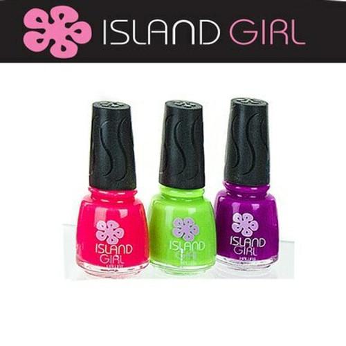 Island Girl® Hawaii 3 Pack Nail Color Set - Brights