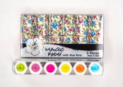 Magic Kiss Cloisonne Aloe Lipstick Six Pack in Assorted Colors