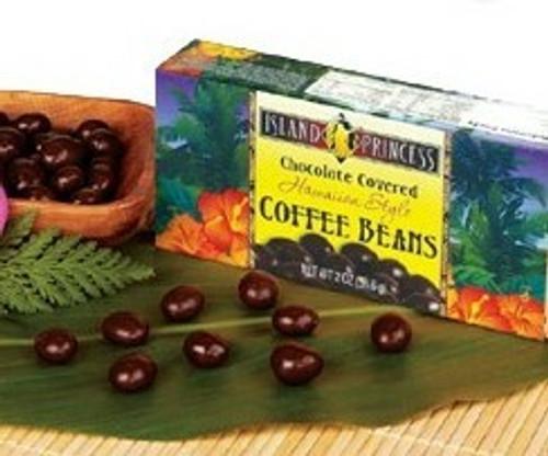 Island Princess Chocolate Covered Coffee Beans Box