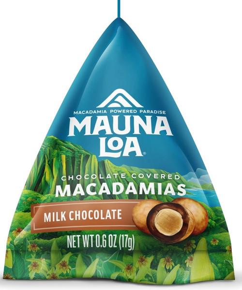 Mauna Loa Milk Chocolate Sample Tetrahedral packs