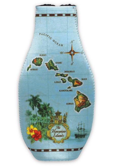 Islands of Hawaii - Blue