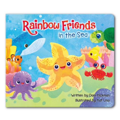 Rainbow Friends in the Sea Children's Book