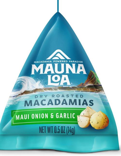 Mauna Loa Maui Onion Garlic Sample Tetrahedral packs