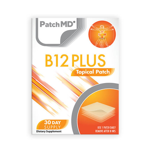 PATCH MD B12 ENERGY PLUS TOPICAL PATCH (30 CT)