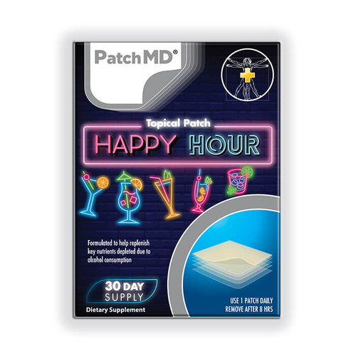 PATCH MD HAPPY HOUR TOPICAL PATCH (30 CT)