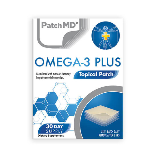 PATCH MD OMEGA-3 PLUS TOPICAL PATCH (30 CT)