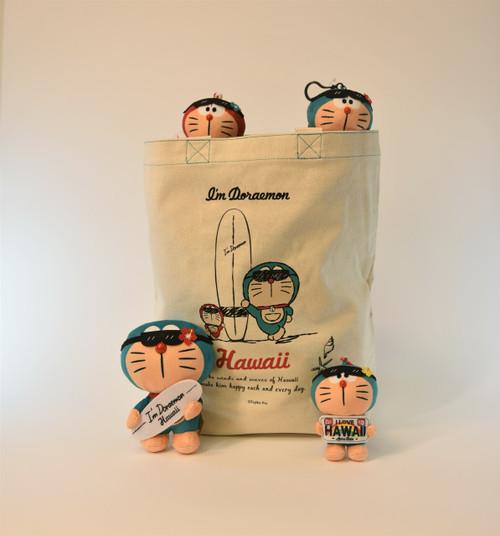 Doraemon Canvas Tote Bag - Surf