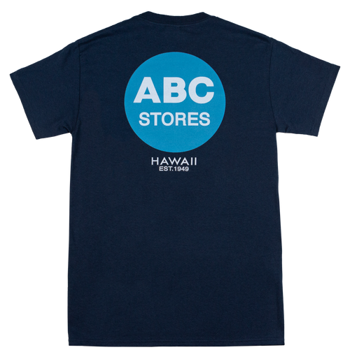 Crew Neck Tee - ABC Classic - Navy