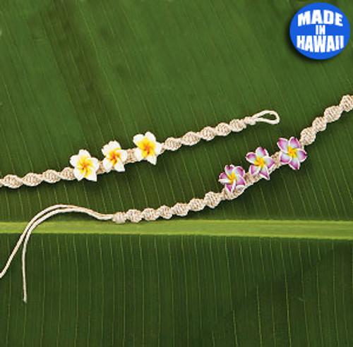 Woven Macrame Bracelet by Olu Olu