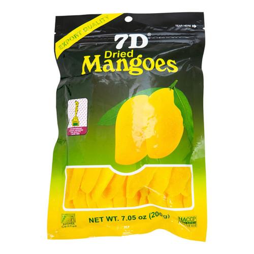 7D Dried Mango 7.05oz Gift Pouch