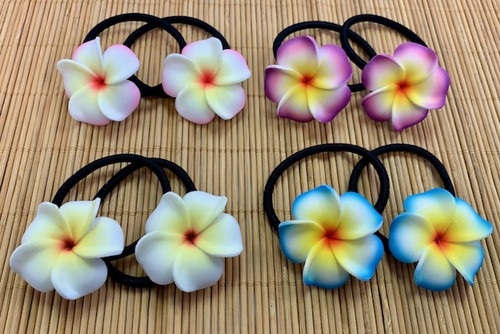 Olu Olu Flower - Elastic Hair Ties