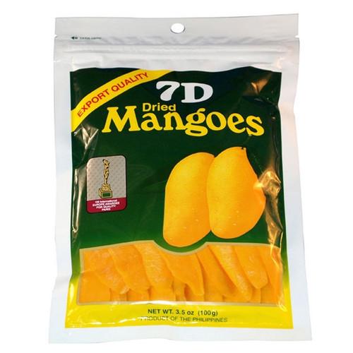 7D Dried Mango 3.5oz Gift Pouch