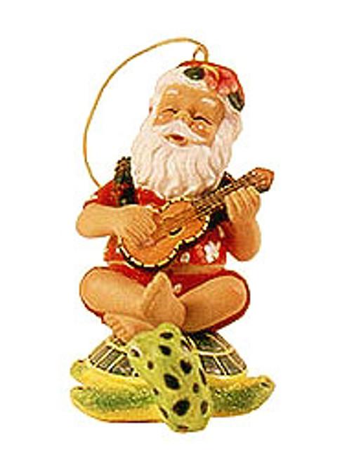 Christmas Ornament - Santa on Honu