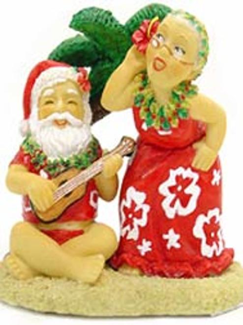 Christmas Ornament - Santa & Dancing Mrs. Claus