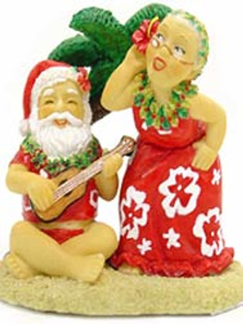 Christmas Ornament - Santa & Dancing Mrs. Claus