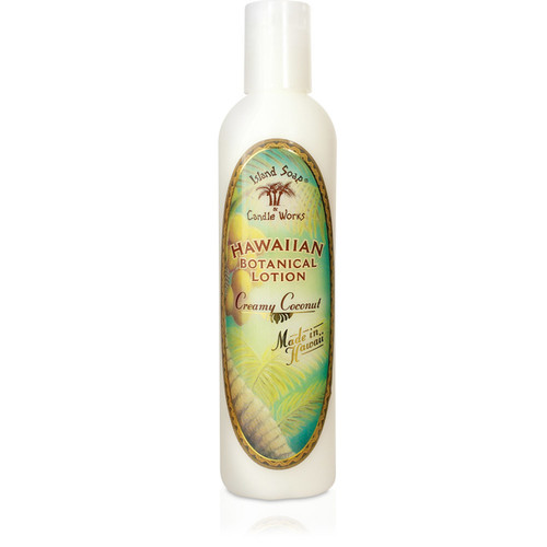 Island Soap Company Botanical Lotions 8oz in Creamy Coconut Scent