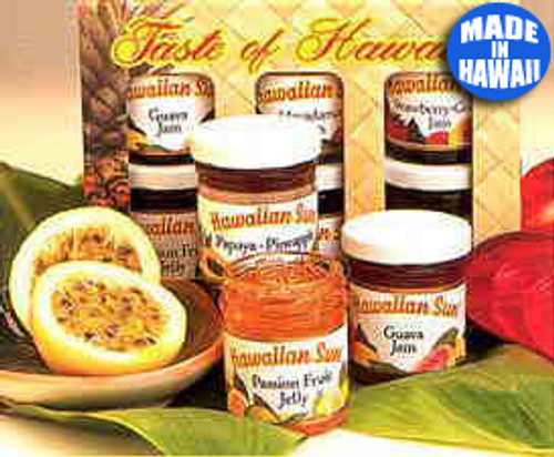 Hawaiian Sun Jams and Jellies Six Pack Gift Set